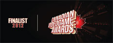 2011 Canadian Videogame Awards Finalist